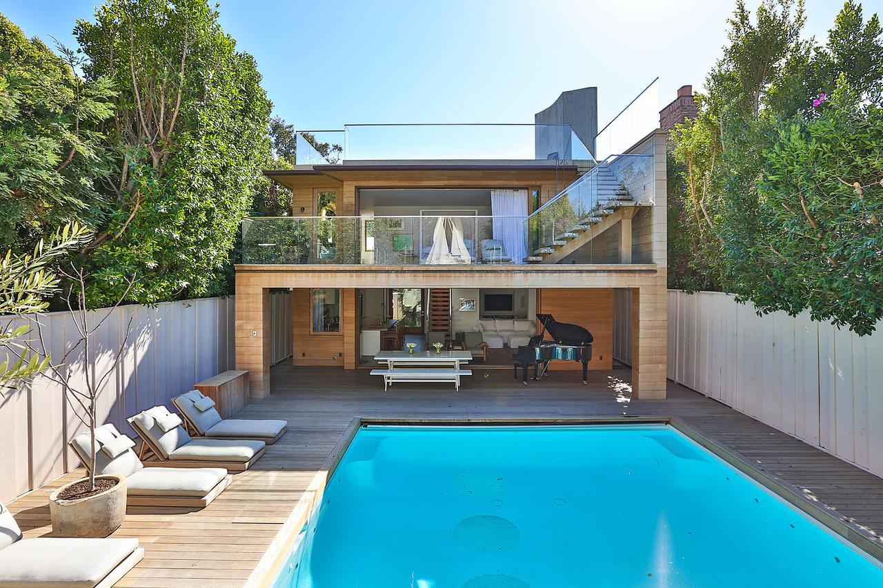 Pamela Anderson's malibu House