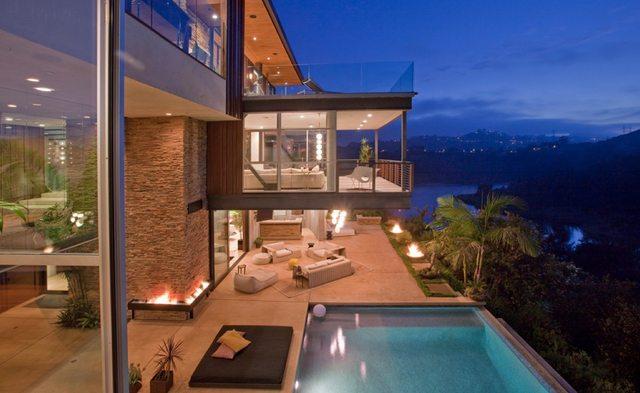 Ashton Kutcher Luxury House