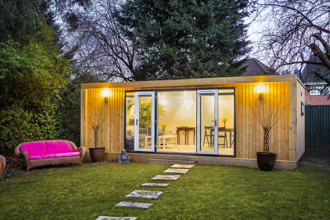 Garden Office Design Inspiration by Dome Photography