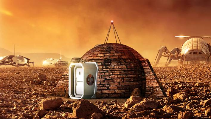 The First EVER Life On Mars Show Home