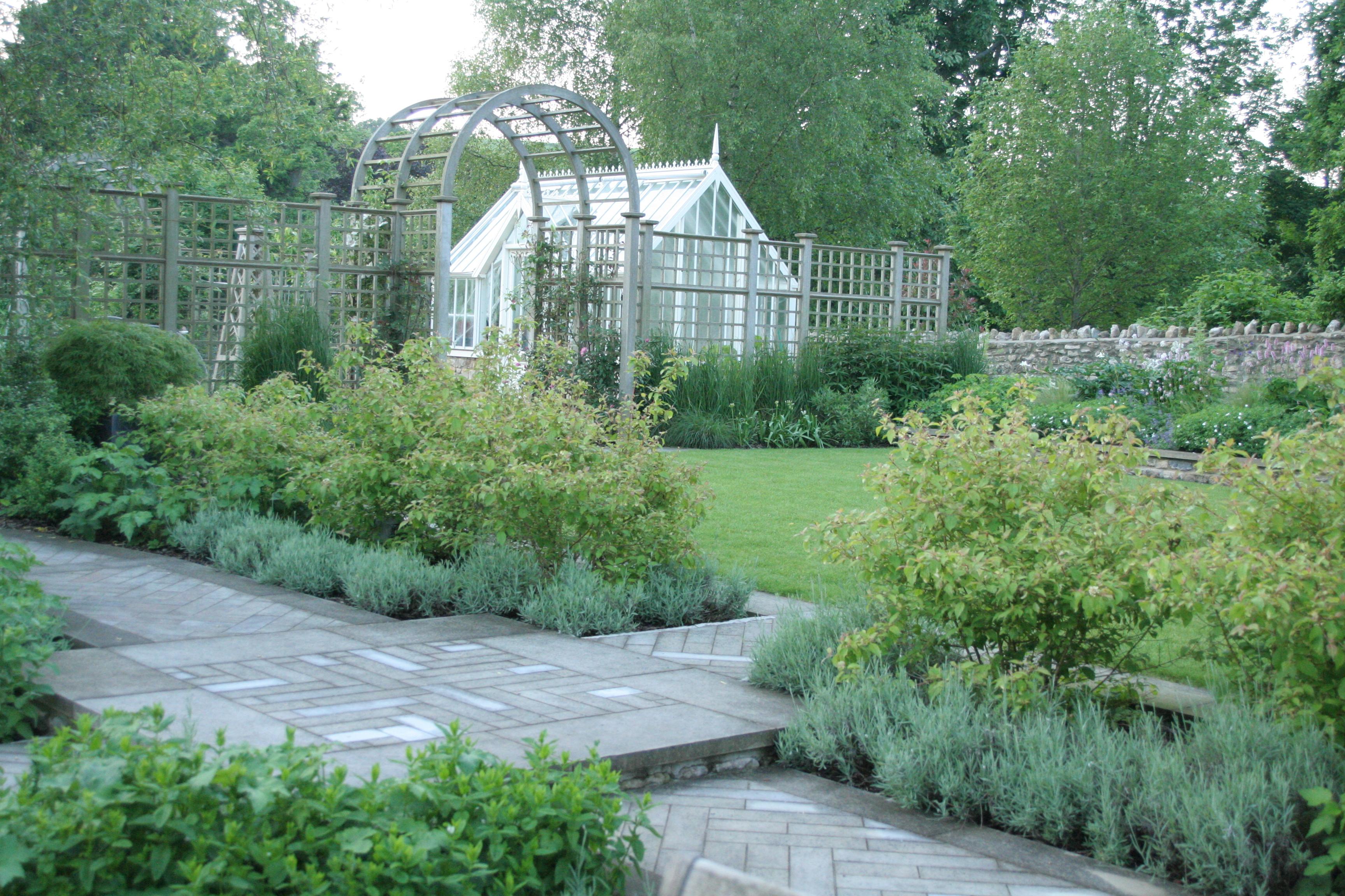 Beautiful Village Gardens by Amanda Patton