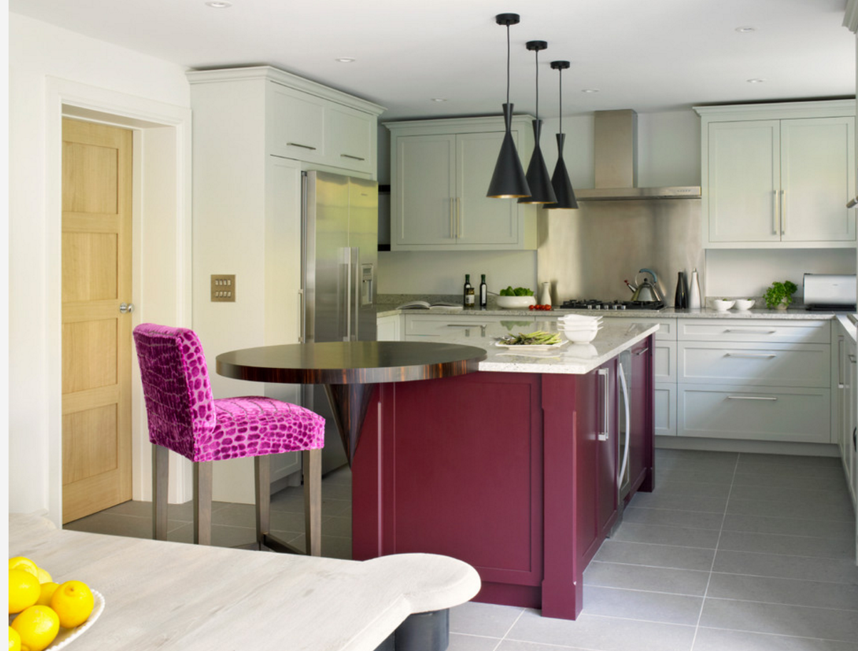 Modern and Colourful Kitchen Inspiration