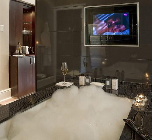 Waterproof TV