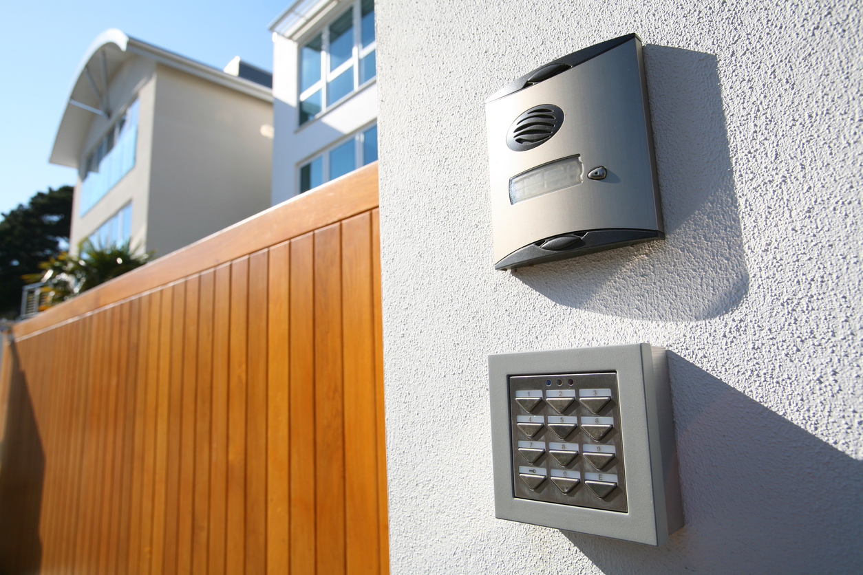 What are the safest door entry systems for flats and apartments?