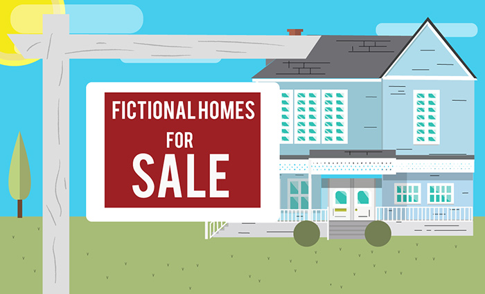 If Fictional Houses went up for sale how much would they sell for?