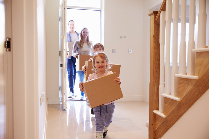 4 Tips for moving house with children