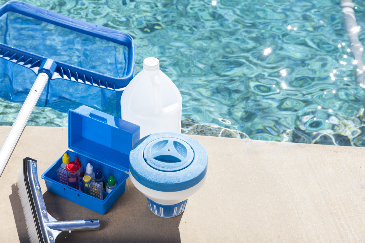 Keeping up with swimming pool maintenance