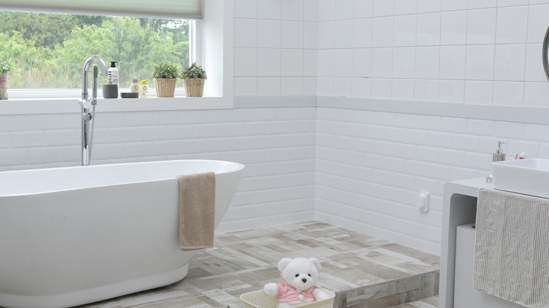 Waterproof your bathroom on a budget
