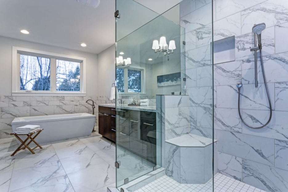 Opaque Glass Shower Door Designs Design Lovers Recommend for Perfect Looking Bathroom to make your bathroom look perfect