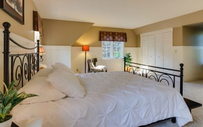 Tranquil country style in the bedroom? 8 steps to dream sleep